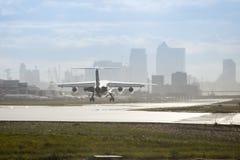 Αερολιμένας πόλεων του Λονδίνου Στοκ εικόνα με δικαίωμα ελεύθερης χρήσης