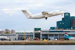 Αερολιμένας πόλεων του Λονδίνου Στοκ φωτογραφία με δικαίωμα ελεύθερης χρήσης