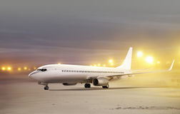 Αερολιμένας στον καιρό μη-πετάγματος Στοκ Εικόνες