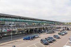Αερολιμένας Στουτγάρδη, Γερμανία - τερματικό Στοκ Εικόνα
