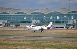 Αερολιμένας της Αλικάντε στοκ φωτογραφία