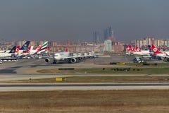 Αερολιμένας της Ιστανμπούλ Atatürk Στοκ εικόνες με δικαίωμα ελεύθερης χρήσης