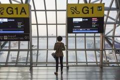 Αερολιμένας της Μπανγκόκ Στοκ Εικόνες