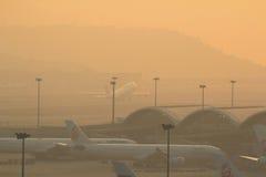 Αερολιμένας του Chek Lap Kok, Χονγκ Κονγκ Στοκ Εικόνες