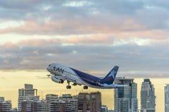 Αερολιμένας του Jorge Newbery, Αργεντινή Στοκ φωτογραφία με δικαίωμα ελεύθερης χρήσης