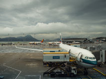 αερολιμένας Χογκ Κογκ Στοκ Φωτογραφίες