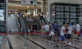 Αερολιμένας Antalya Στοκ εικόνα με δικαίωμα ελεύθερης χρήσης