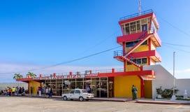 Αερολιμένας Baracoa Κούβα του Gustavo Rizo Στοκ Εικόνες