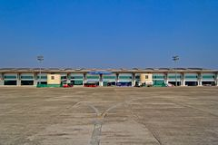 Αερολιμένας Bhubaneshwar Στοκ Φωτογραφία