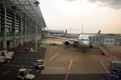 αερολιμένας Changi Σινγκαπού&r Στοκ φωτογραφία με δικαίωμα ελεύθερης χρήσης