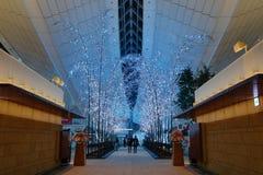 Αερολιμένας Haneda, Ιαπωνία - διεθνής αερολιμένας του Τόκιο Στοκ εικόνα με δικαίωμα ελεύθερης χρήσης