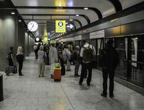 Αερολιμένας Heathrow - τερματικό 5 στοκ εικόνα με δικαίωμα ελεύθερης χρήσης
