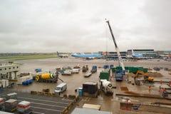 Αερολιμένας Schiphol του Άμστερνταμ Στοκ φωτογραφίες με δικαίωμα ελεύθερης χρήσης