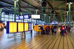 Αερολιμένας Schiphol του Άμστερνταμ Στοκ Φωτογραφία