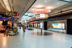 Αερολιμένας Schiphol του Άμστερνταμ Στοκ εικόνα με δικαίωμα ελεύθερης χρήσης
