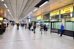 Αερολιμένας Schiphol του Άμστερνταμ Στοκ Εικόνα