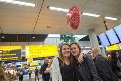 Αερολιμένας Schiphol Στοκ φωτογραφία με δικαίωμα ελεύθερης χρήσης