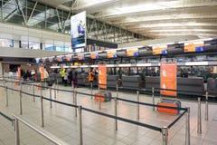 Αερολιμένας Schiphol Στοκ Εικόνες