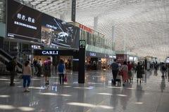 Αερολιμένας Shenzhen Στοκ εικόνες με δικαίωμα ελεύθερης χρήσης