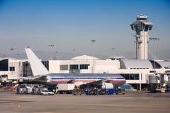 Αεροδρόμιο Λα στοκ φωτογραφία