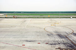 αεροδρόμιο Στοκ φωτογραφίες με δικαίωμα ελεύθερης χρήσης