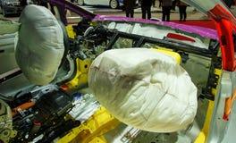 Αερόσακος στο αυτοκίνητο Στοκ Εικόνες