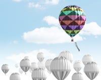 Αερόστατα στον ουρανό Στοκ Εικόνες