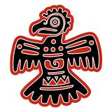 Αετός ειδώλων αμερικανών ιθαγενών Στοκ Εικόνα