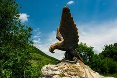 Αετός, σύμβολο της πόλης Pyatigorsk, ο βόρειος Καύκασος στοκ εικόνα
