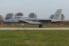 Αετός USAF φ-15 κατά τη διάρκεια της άσκησης σημαιών Frisian Στοκ εικόνα με δικαίωμα ελεύθερης χρήσης