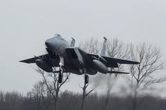 Αετός USAF φ-15 κατά τη διάρκεια της άσκησης σημαιών Frisian Στοκ Φωτογραφία