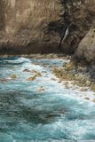 Αζορική ακτή Στοκ Εικόνες