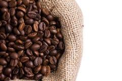 αημένη καφές πλευρά σάκων Στοκ Εικόνες