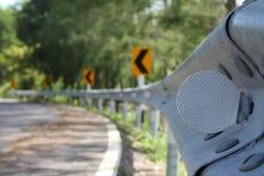 αημένος καμπύλη δρόμος Στοκ φωτογραφία με δικαίωμα ελεύθερης χρήσης