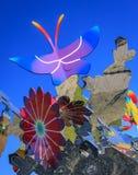 ` Αθάνατα λουλούδια ` που σχεδιάζονται από Shinji Ohmaki στοκ φωτογραφία με δικαίωμα ελεύθερης χρήσης