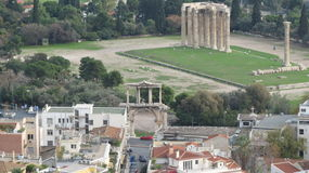 Αθήνα Ελλάδα Στοκ φωτογραφία με δικαίωμα ελεύθερης χρήσης