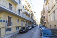 Αθήνα - ελαφριά κυκλοφορία Στοκ Εικόνα