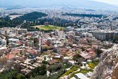 Αθήνα Στοκ εικόνα με δικαίωμα ελεύθερης χρήσης