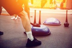 Αθλητές στη γυμναστική στοκ εικόνες με δικαίωμα ελεύθερης χρήσης