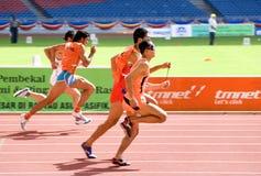 αθλητές τυφλοί Στοκ εικόνα με δικαίωμα ελεύθερης χρήσης