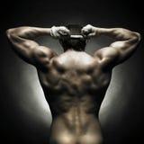 αθλητής γυμνός Στοκ εικόνες με δικαίωμα ελεύθερης χρήσης