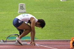 αθλητής εκτός λειτουργίας στοκ φωτογραφία με δικαίωμα ελεύθερης χρήσης