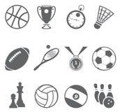 Αθλητικά εικονίδια Στοκ φωτογραφία με δικαίωμα ελεύθερης χρήσης
