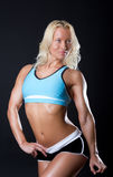 αθλητική γυναίκα σωμάτων Στοκ Φωτογραφία