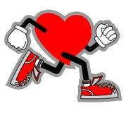 Αθλητική καρδιά Στοκ Εικόνες