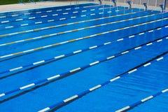 αθλητική κολύμβηση λιμνών Στοκ Εικόνα