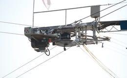 Αθλητική μηχανοποιημένη σφεντόνα νερού στοκ εικόνα με δικαίωμα ελεύθερης χρήσης