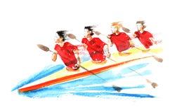 αθλητική ομάδα Στοκ Εικόνες