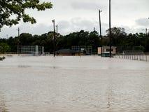 Αθλητικοί τομείς πάρκων Pedigo που πλημμυρίζουν Στοκ Εικόνα