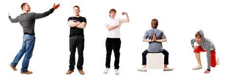 αθλητικοί τύποι Στοκ Εικόνα
